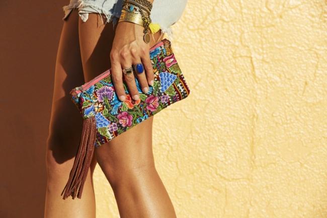 Stunning handmade bags by     Alma Vistoso .