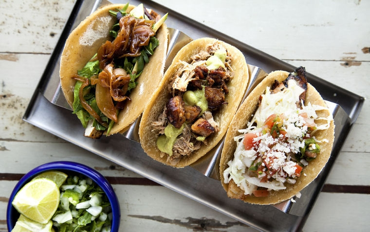 We will have a taco truck on site offering both vegetarian and non veggie options.