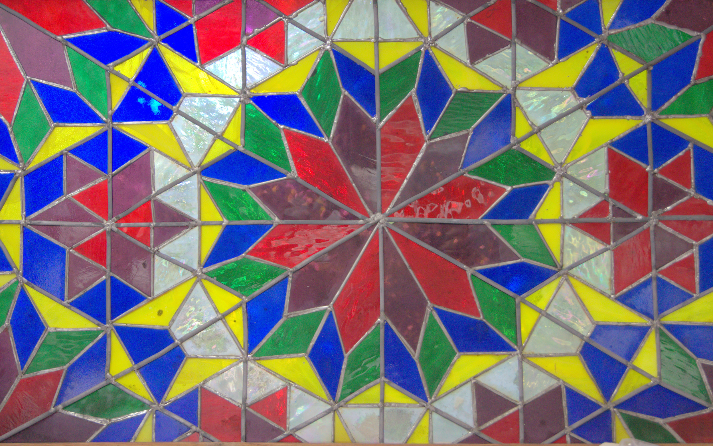 Stained glass, 1995. or so.