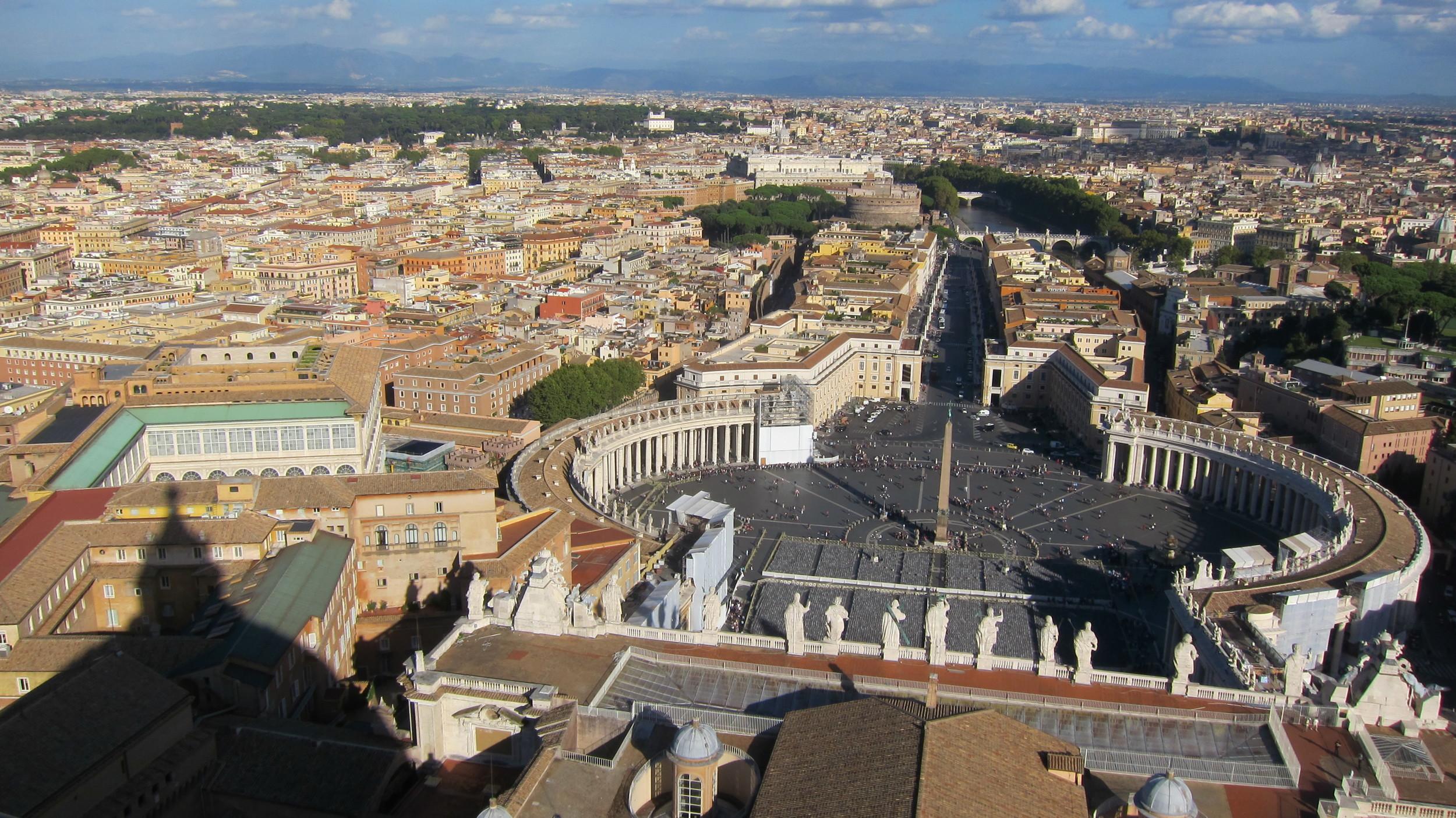 2012, Rome.