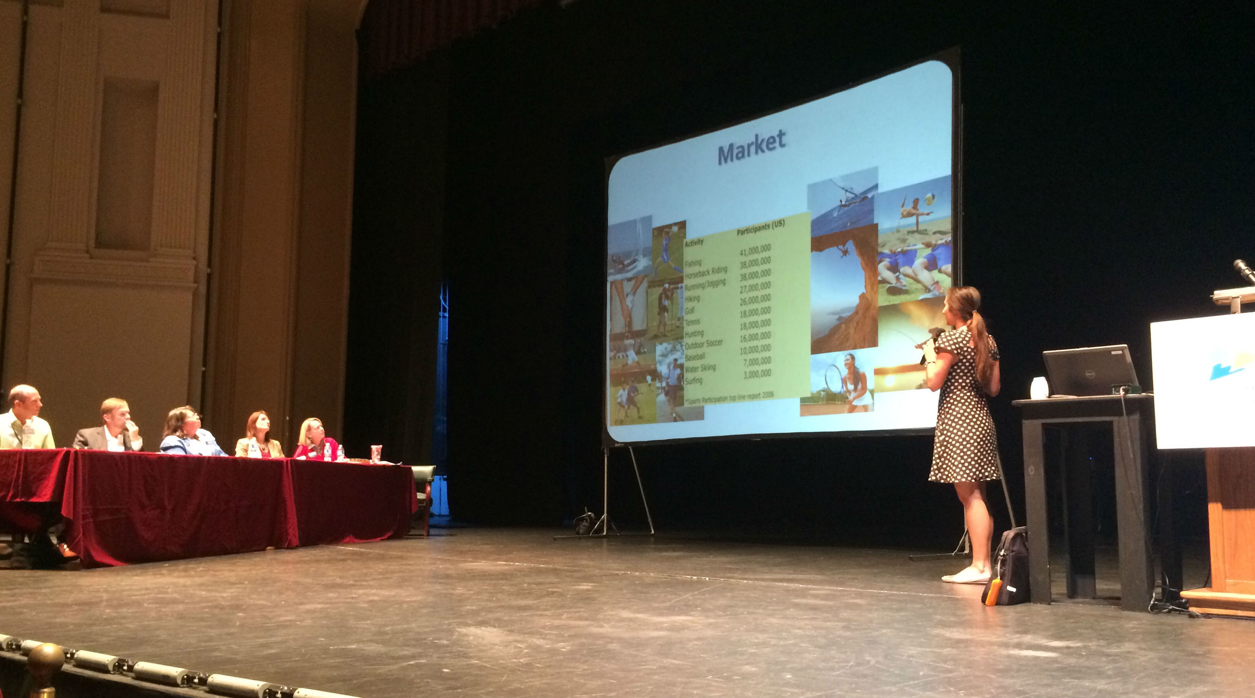 Arianna Megaro (BlokRok) at Perfect Pitch Competition
