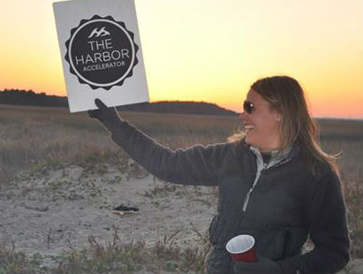 Mindy Taylor at the 2014 Harbor Retreat on Capers Island