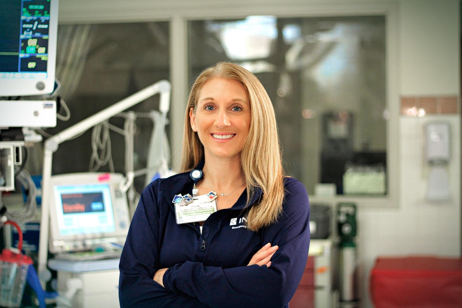 Kara Bauman  | Clinical Educator for Inova Fairfax Medical Campus (Emergency Departments)