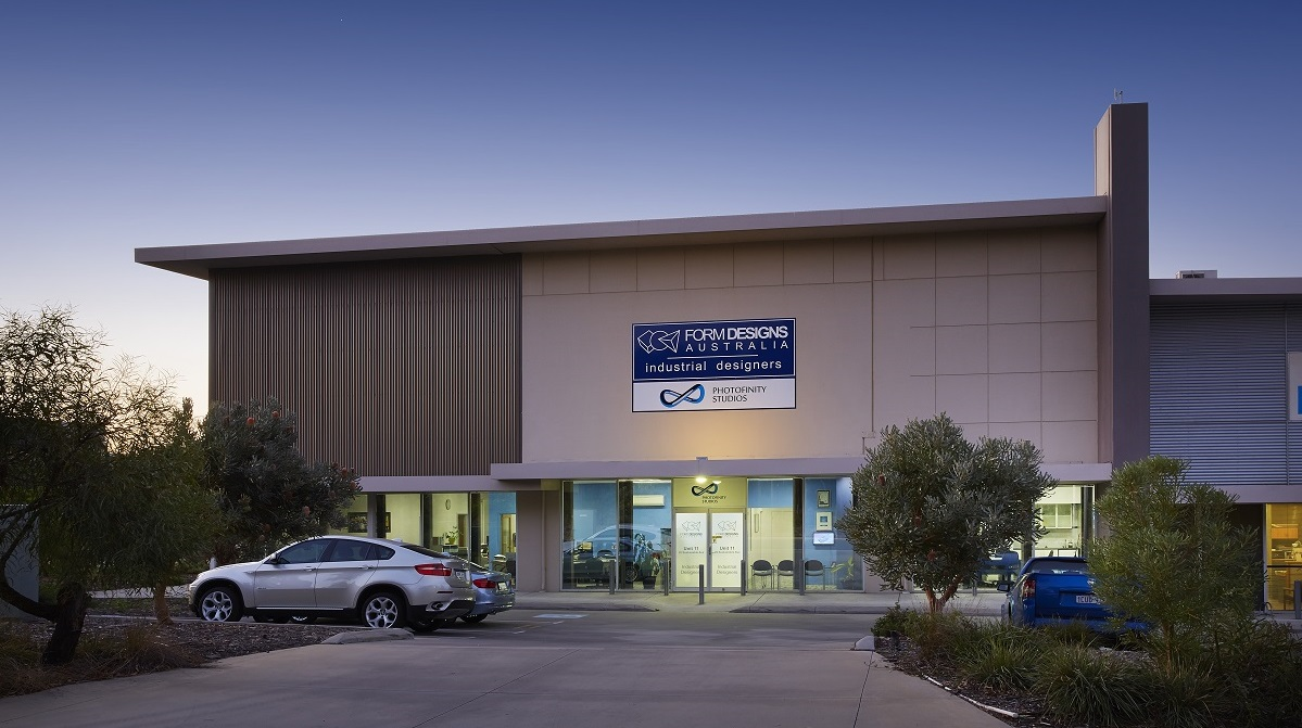 Outside view of Perth photography studio Photofinity Studios