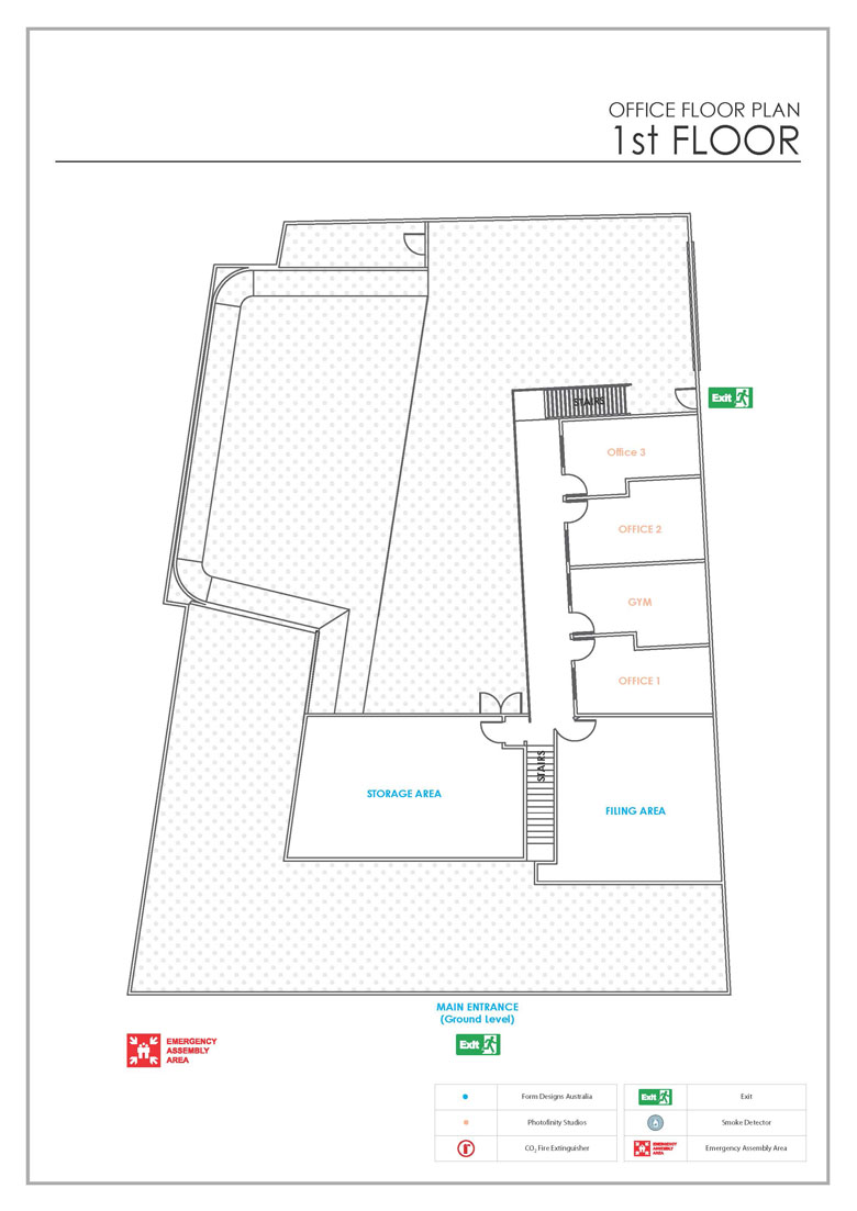 Studio Floor Plan First Floor