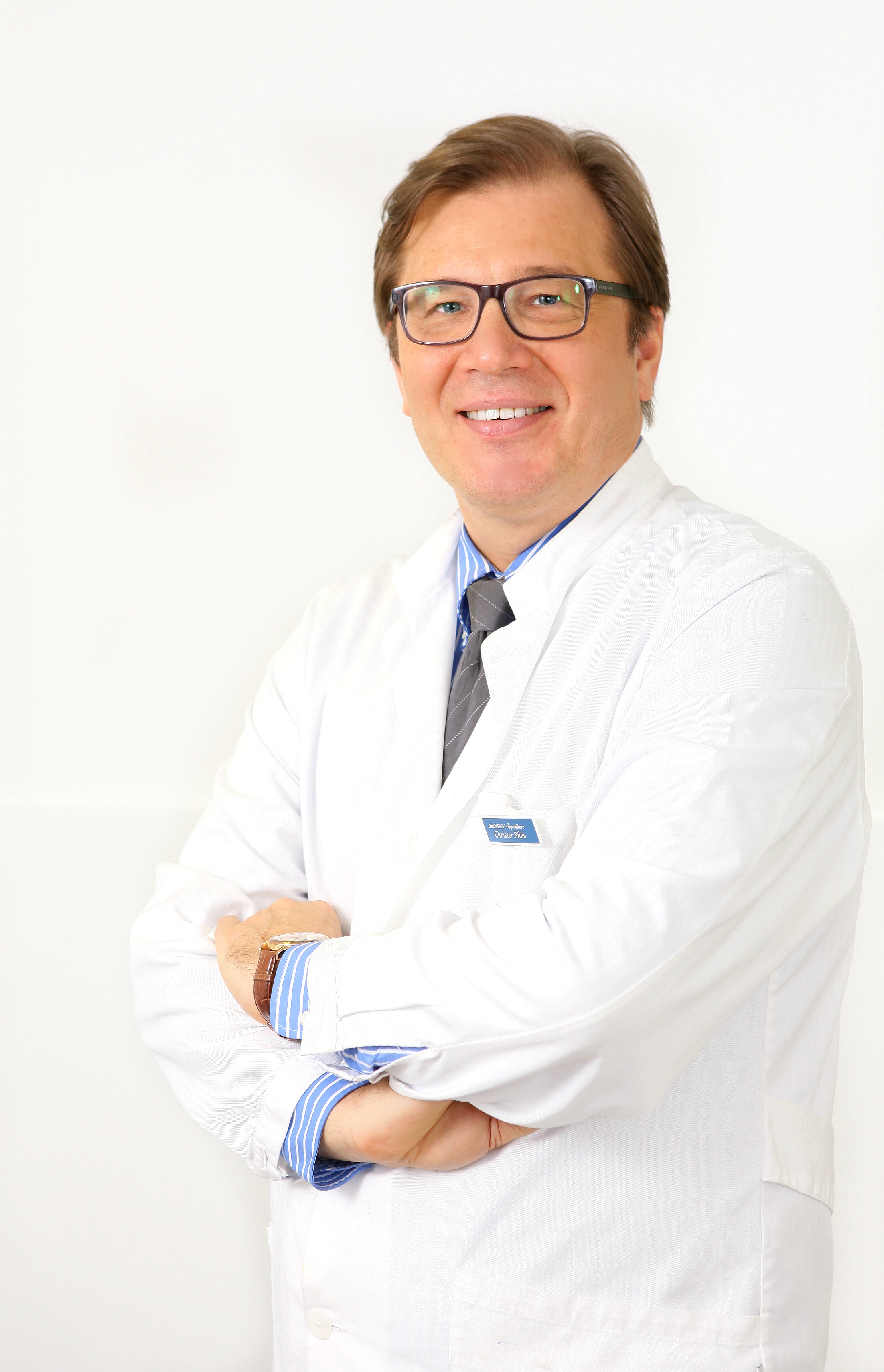 Christer Silén, silmälääkäri, toimitusjohtaja, Silmätalo Porvoo.