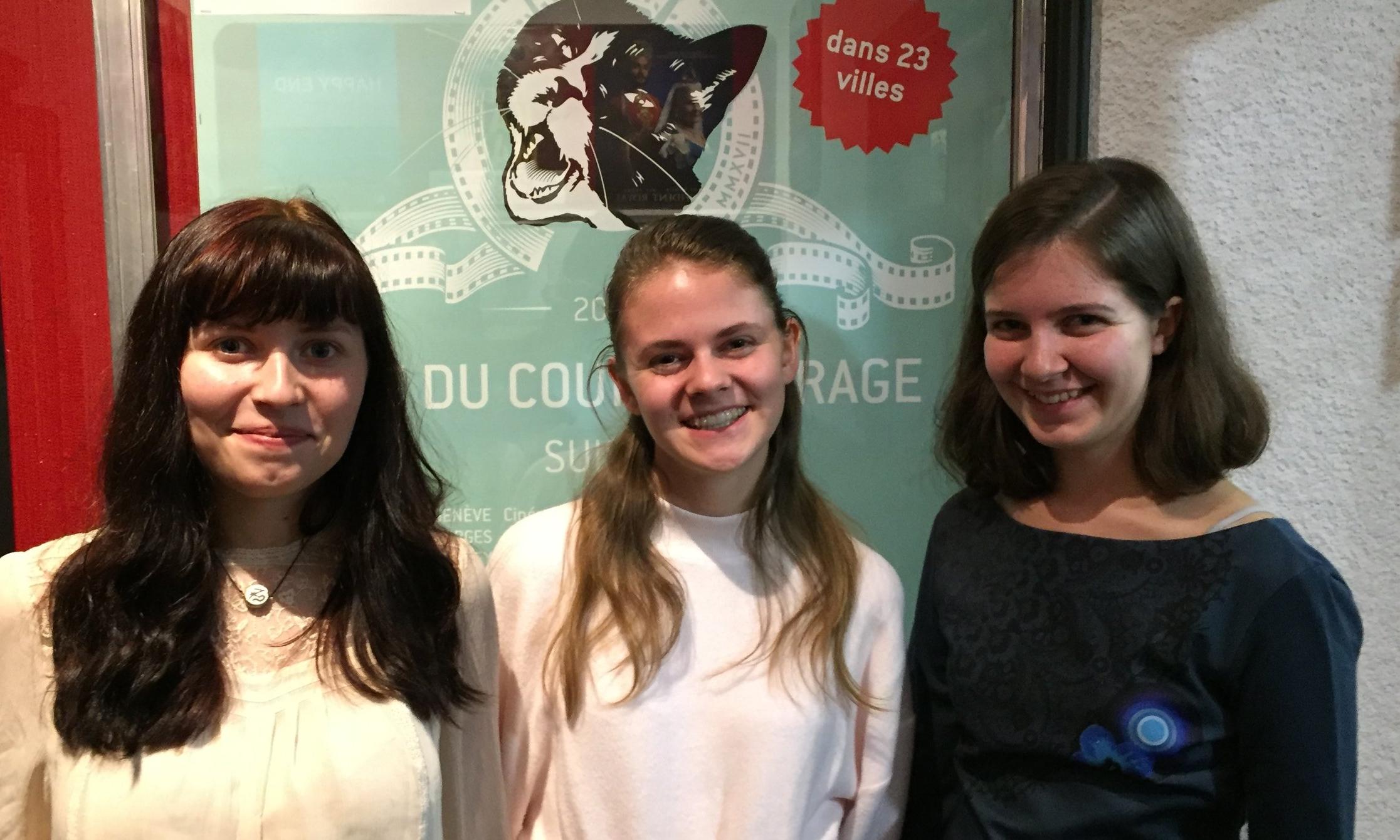 Prix RTS du Jury des jeunesNuit du Court de Fribourg - Pour sa réalisation, pour son sujet d'actualité et la façon nouvelle dont il était traité, et surtout parce qu'il nous a beaucoup émues, nous avons choisi BON VOYAGE, de Mark Wilkins.Sorina, Alexandra et Jeanne