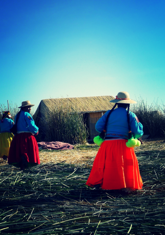 """Floating Hope"", Islas Uros, Peru"