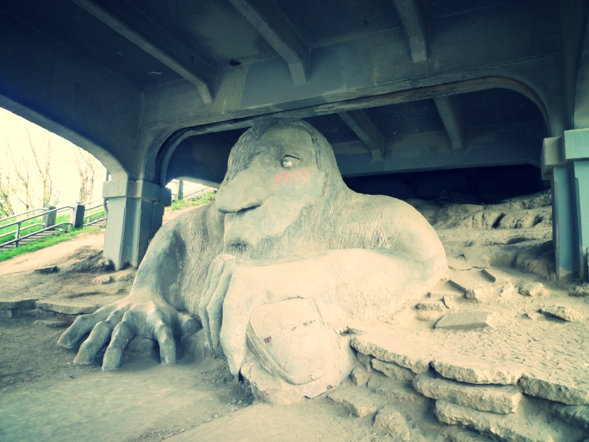 """Bridge Troll"", Seattle, US"