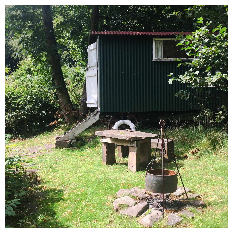 The Shepard Hut in the Garden, August 2019.