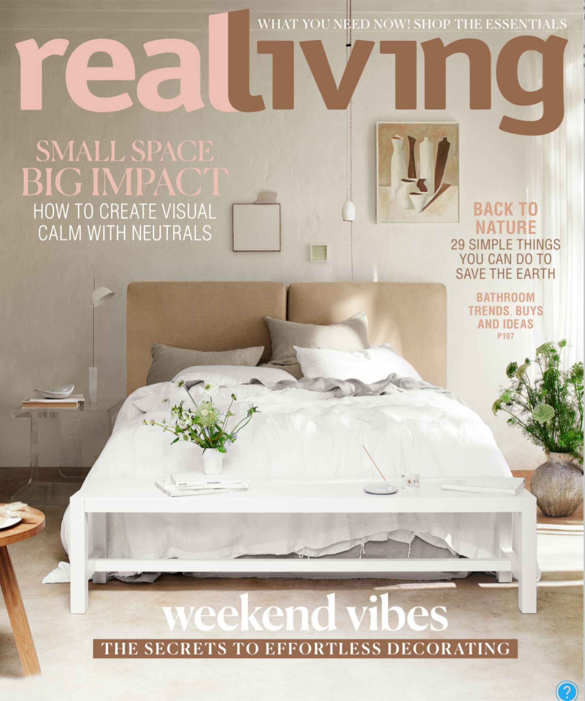 Real Living Jun 19 - Darlinghurst Terrace by Tom Mark Henry styling by Claire Delmar