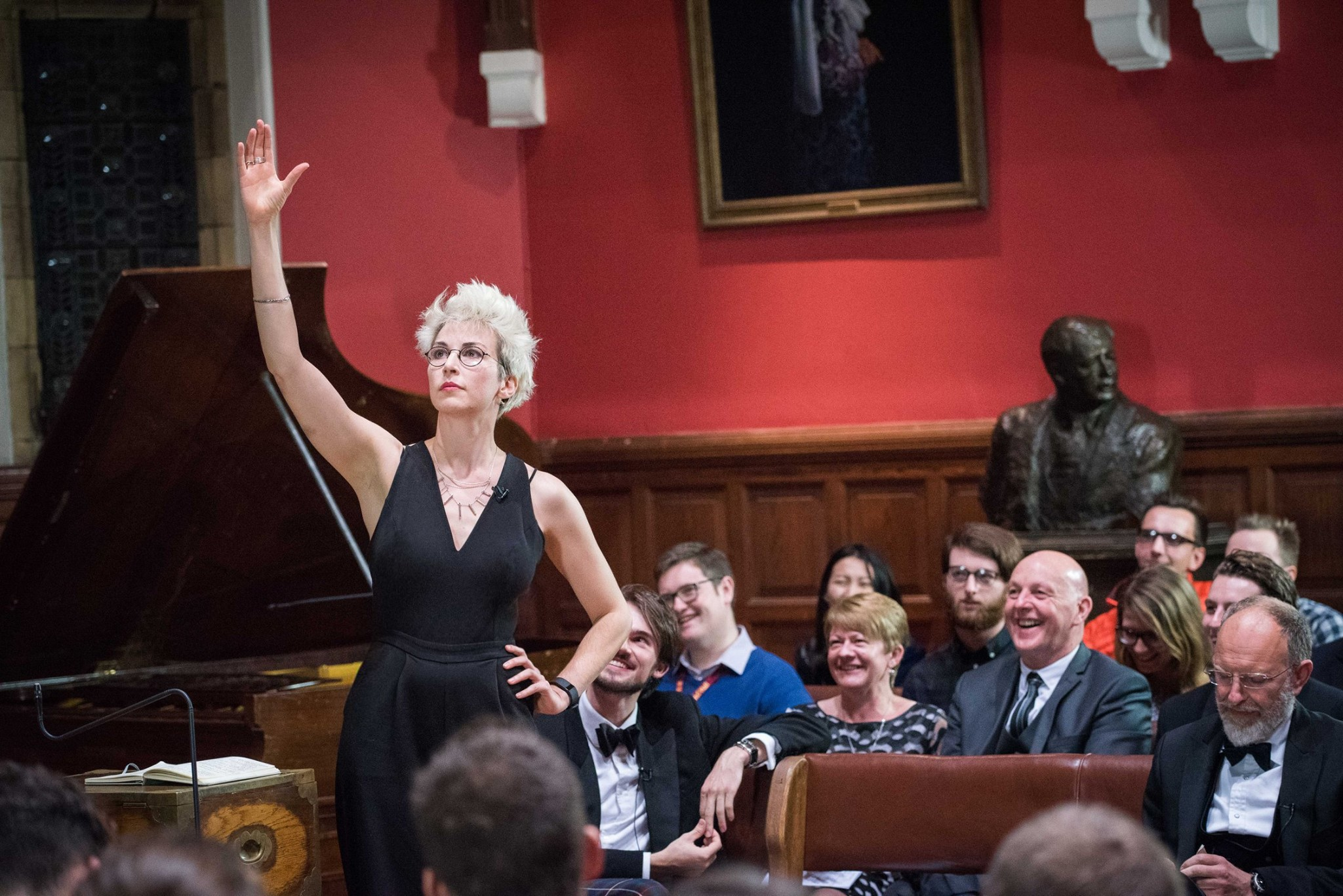 Debating Barry Cryer at The Oxford Union