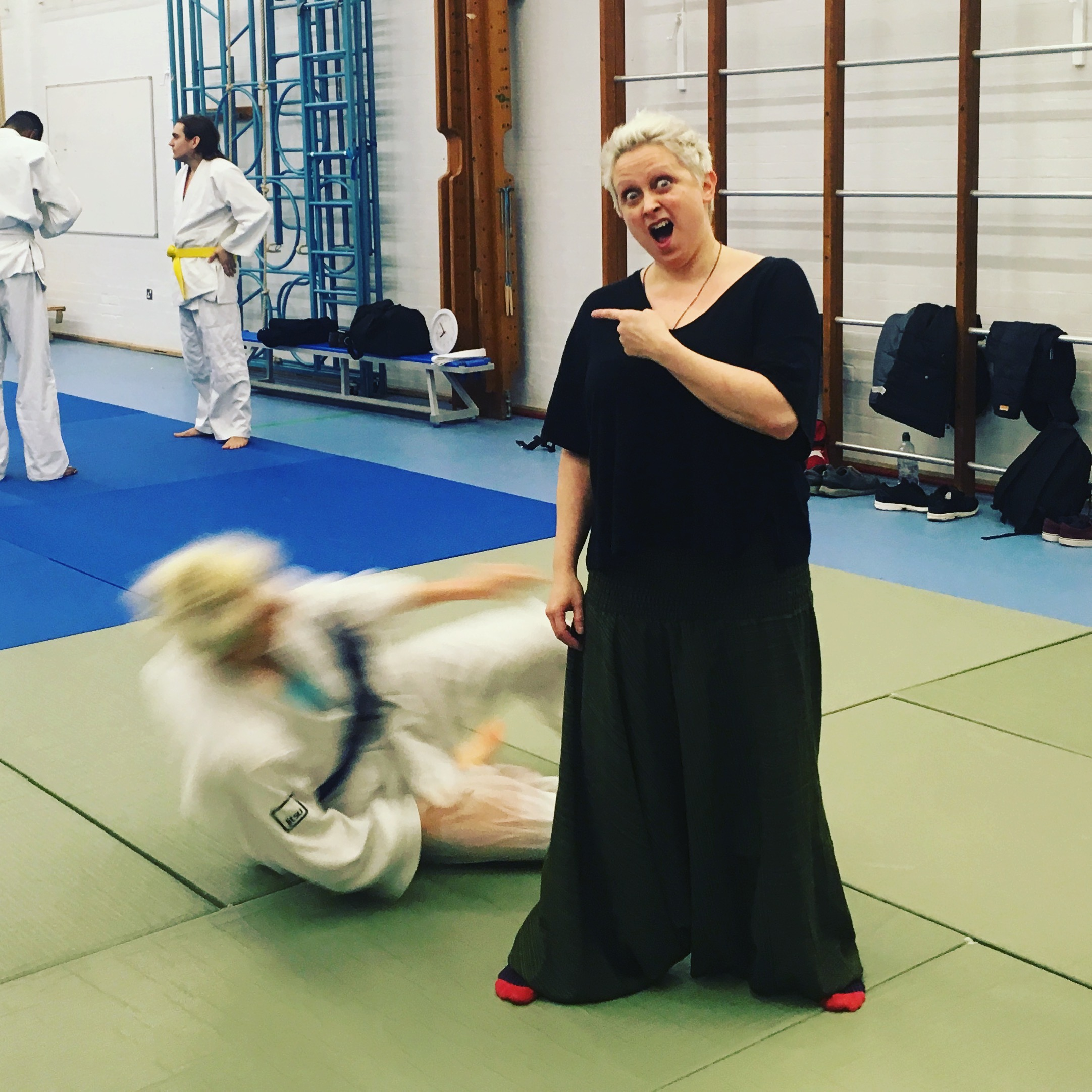 3.30pm Tuesday 9th Jan Radio 4 - Listen to Making History for an interview about kick ass jiu jitsu suffragettes with Naomi Paxton and Iszi Lawrence