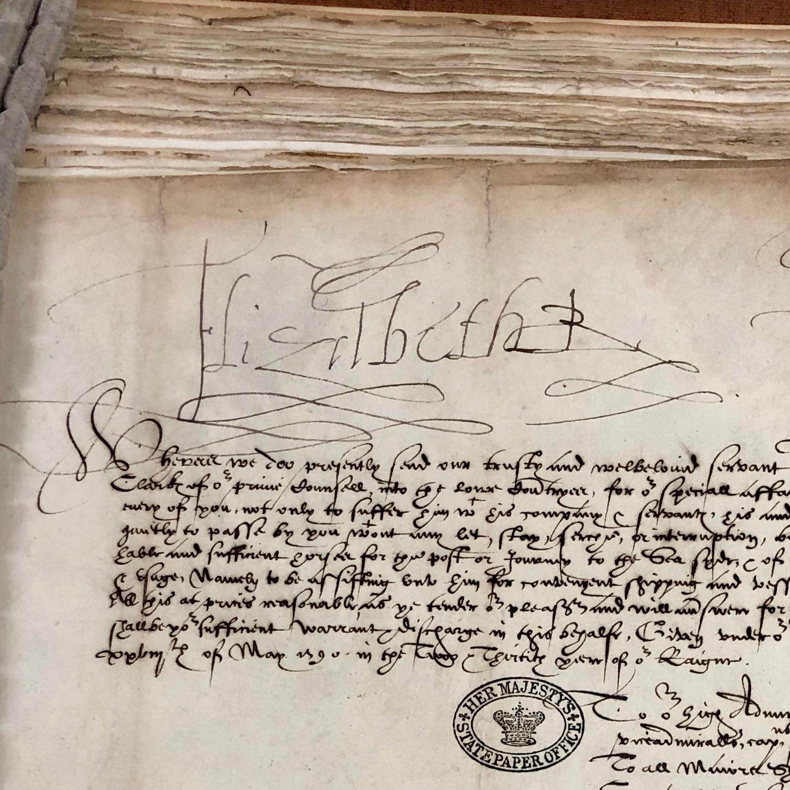 Queenie's signature was very Queenie.