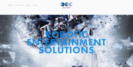 BEC Rides, robot coaster, vr ride, extreme roller coaster, virtual reality enterntainment, KUKA, human machine interaction, www.bec-rides.com