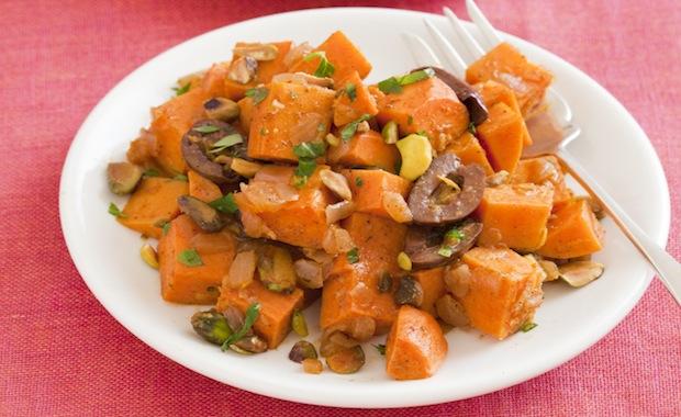 Recipe: Bella's Moroccan-Spiced Sweet Potato Salad -- Rebecca Katz