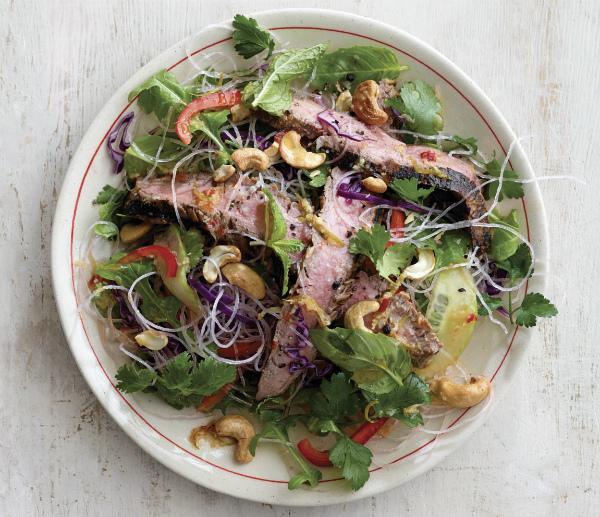 Recipe: Thai It Up Steak Salad - Rebecca Katz