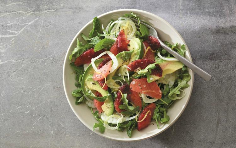 Avocado Citrus Salad Recipe - Rebecca Katz