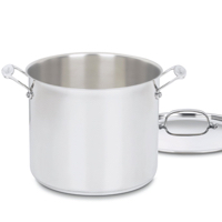 The Magic Mineral Broth™ recipe uses this size stock pot! But any large pot will do!