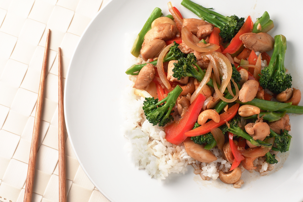 grace young chicken and broccoli stir-fry