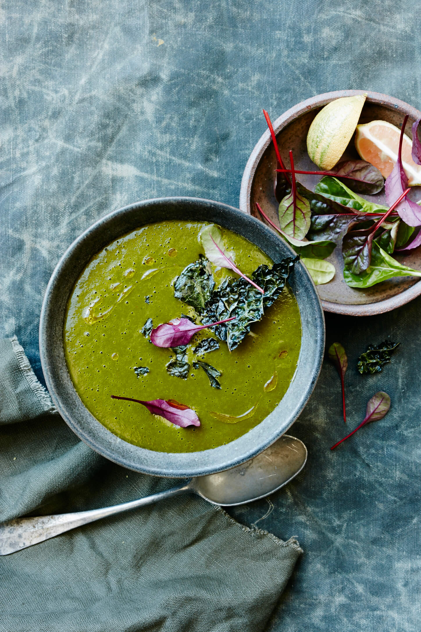 Clean Green Soup - Rebecca Katz