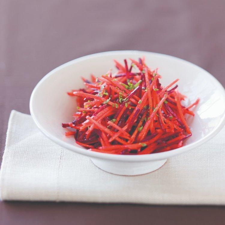 Shredded Carrot and Beet Salad - Rebecca Katz