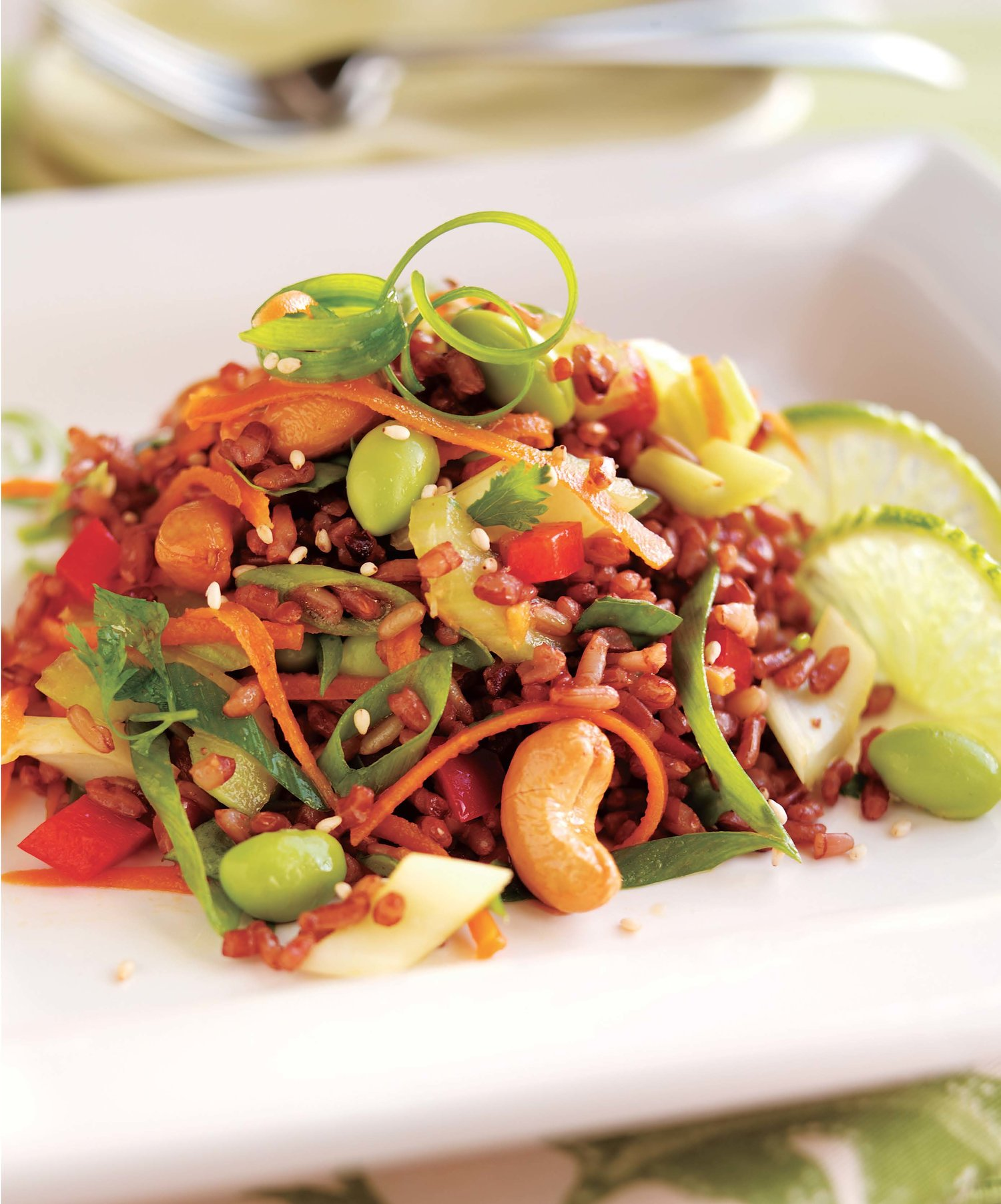 Asian Rice Salad with Edamame - Rebecca Katz