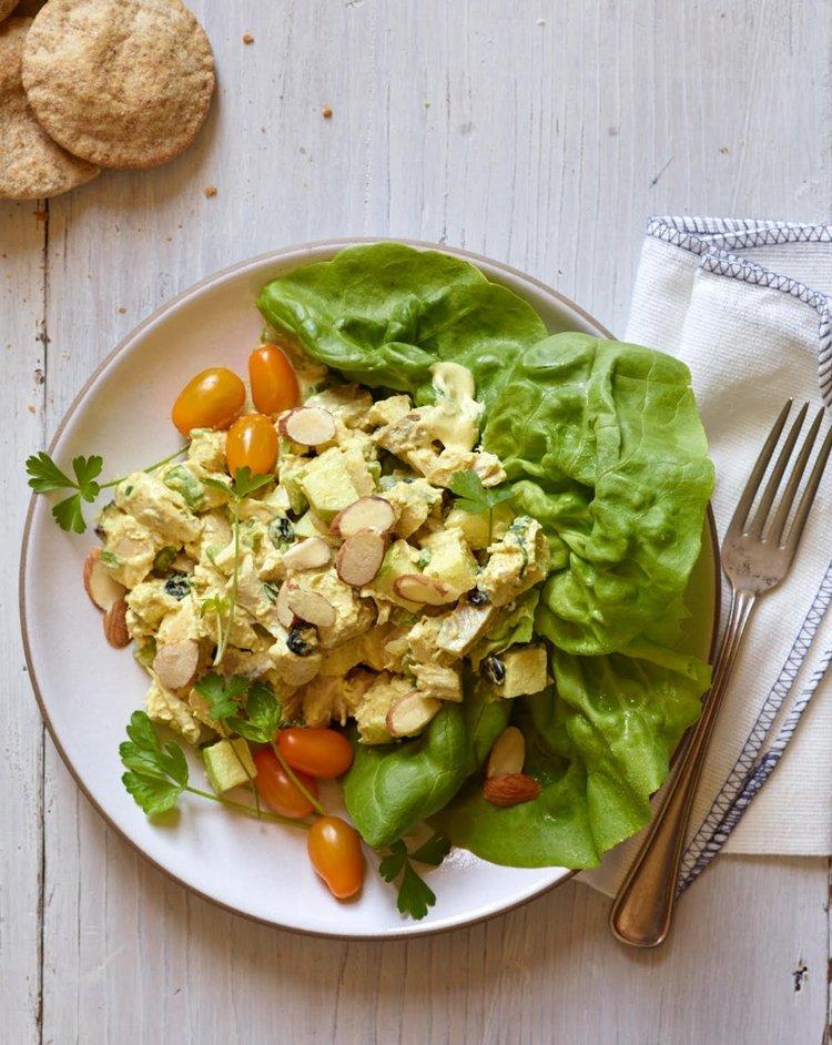 Curried Chicken Salad - Rebecca Katz