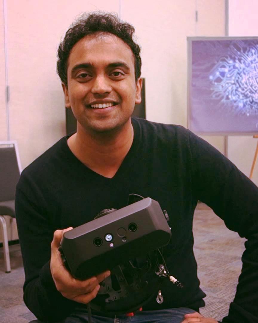 Tej Tadi, CEO & Co-founder Mindmaze