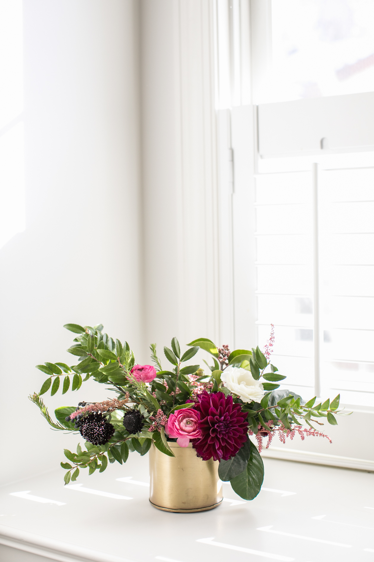 Student Floral Work - Photo by  Kismet Visuals