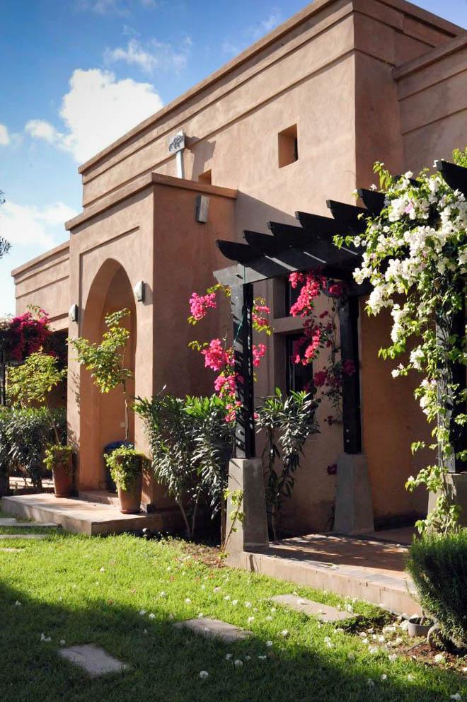 Peacock Pavilions boutique hotel in Marrakech, Morocco – Design by M. Montague - Atlas Pavilion