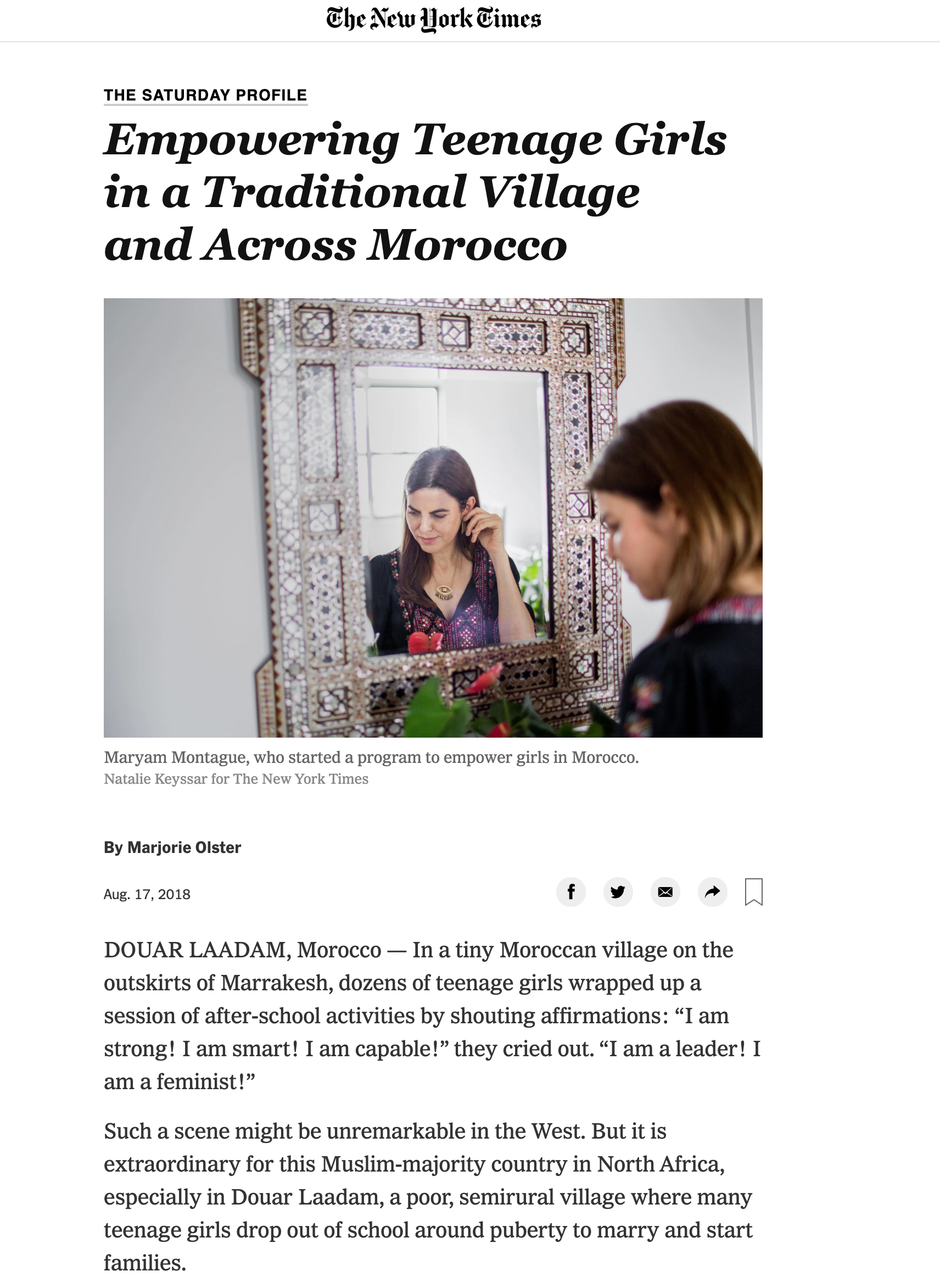 Empowering Teenage Girls in a Traditional Village and Across Morocco - The New York Times.png