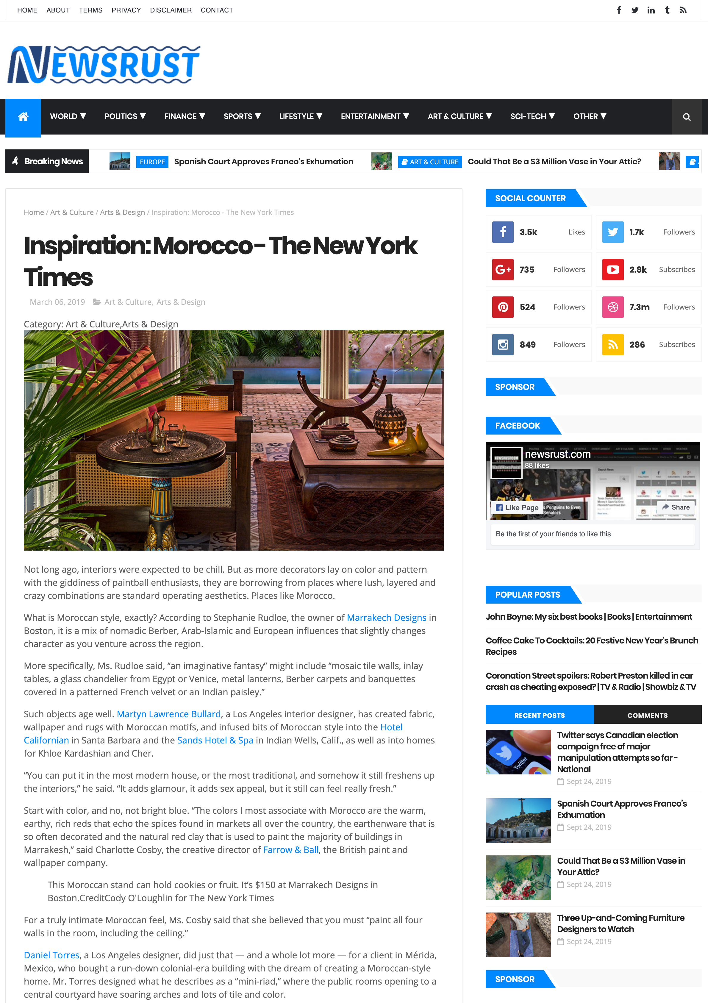Inspiration  Morocco - The New York Times - NEWSRUST.png