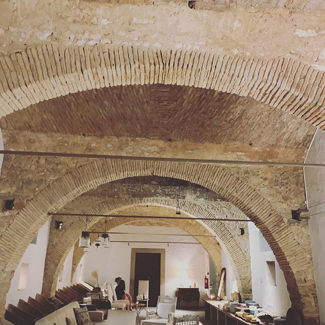 An ancient stable transformed into this majestic room. The Portuguese sure know a thing or two about building