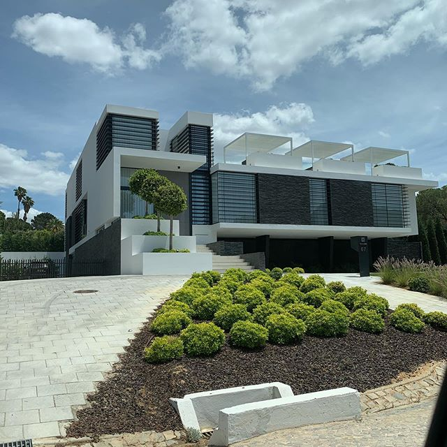 Beautiful modern architecture in the Algarve. 3D's coming to life