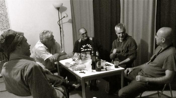 Luiz Moretto, Gianfranco Tedeschi, Francesco Lo Cascio, Marco Ariano, Alipio c Neto                               Photo by karla Bessa