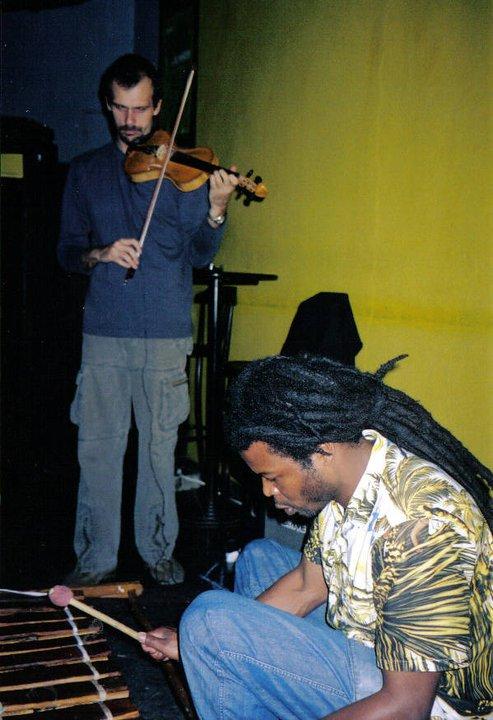Genitho Rasta and Luiz Moretto