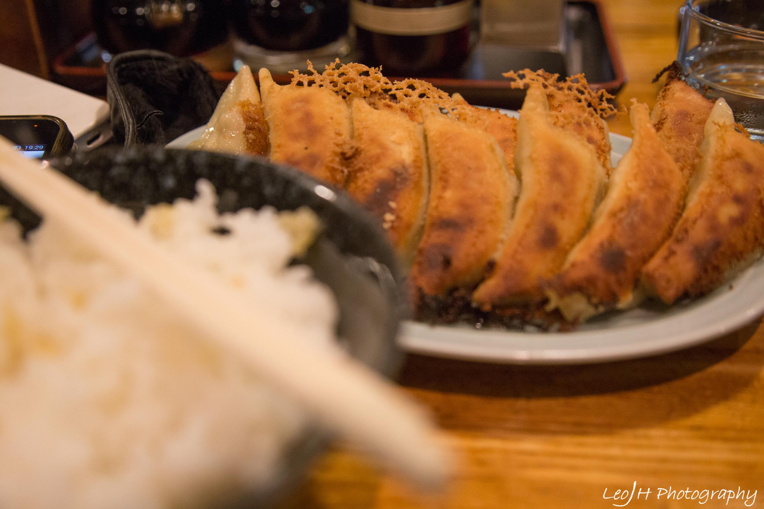 Day 1 dinner: Gyozas at Gyoza Central