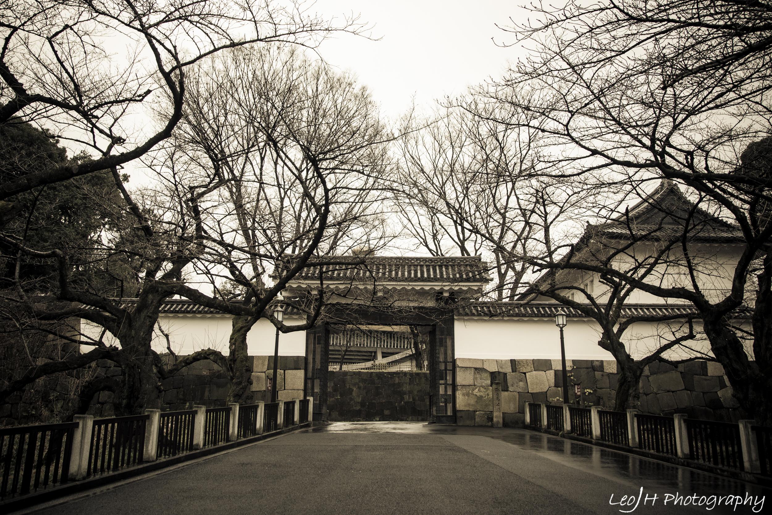 Entrance towards the Budokan area