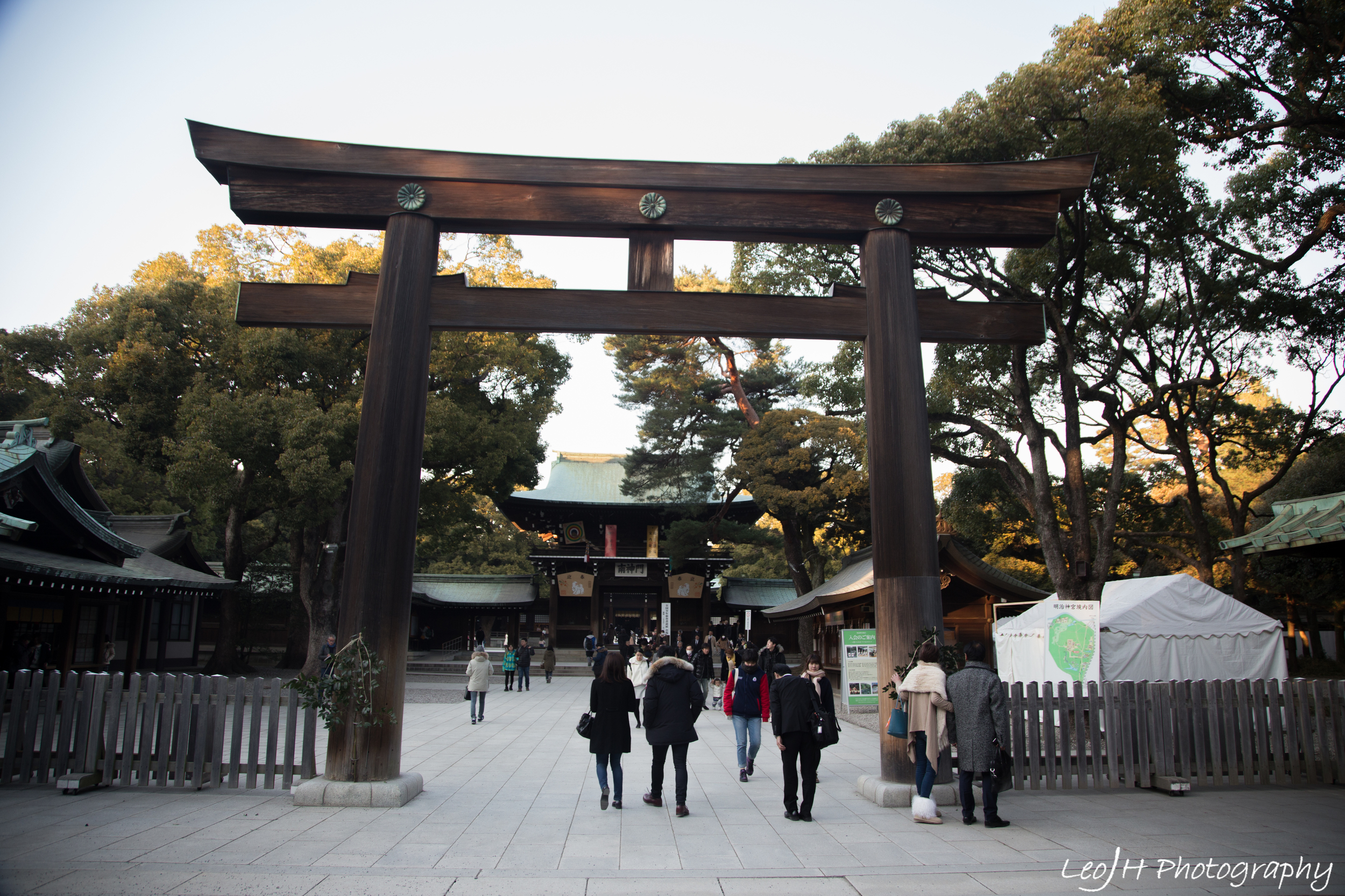 Entrance to the shrine itself