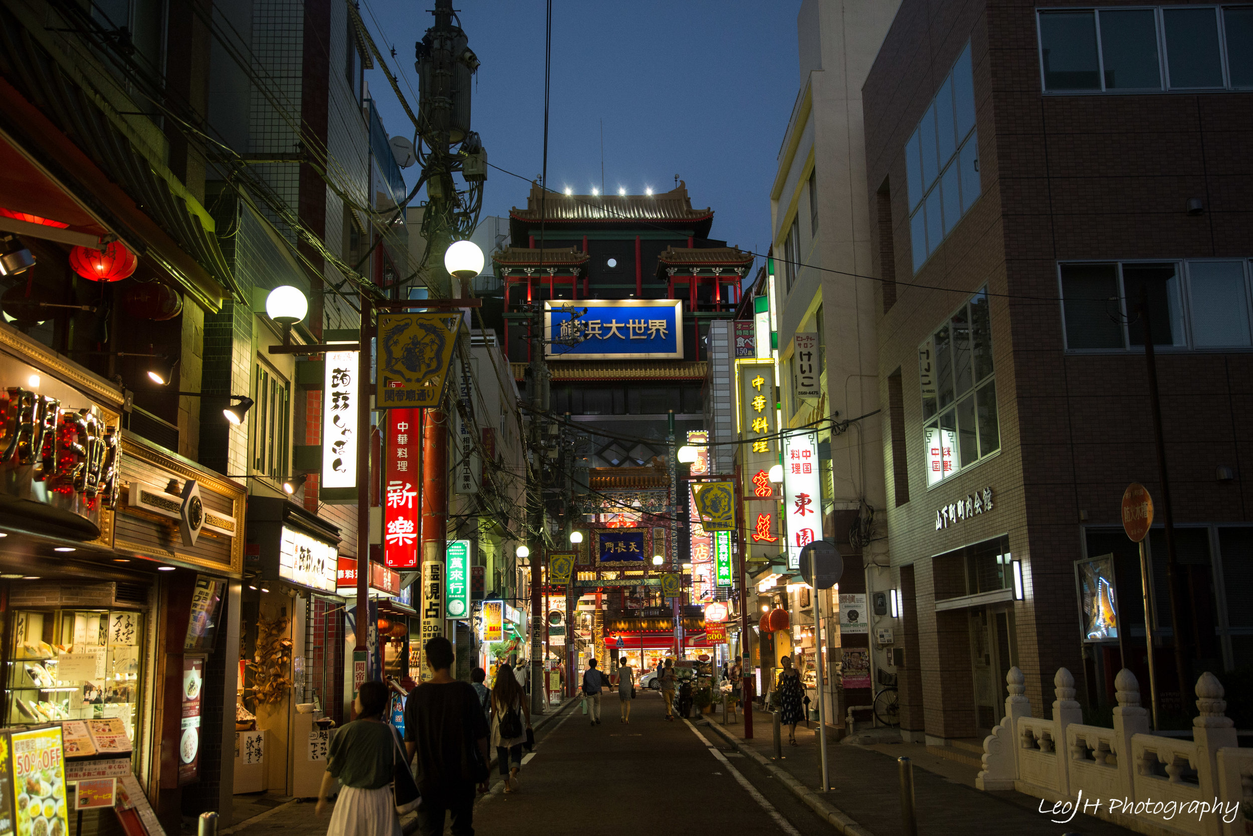More streets of Yokohama Chinatown