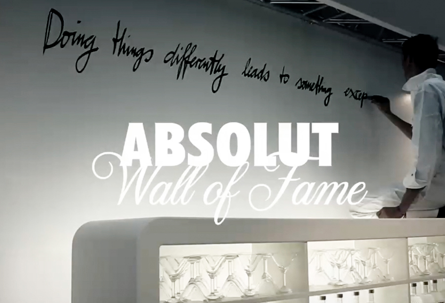 WALL OF FAME - ABSOLUT VODKA