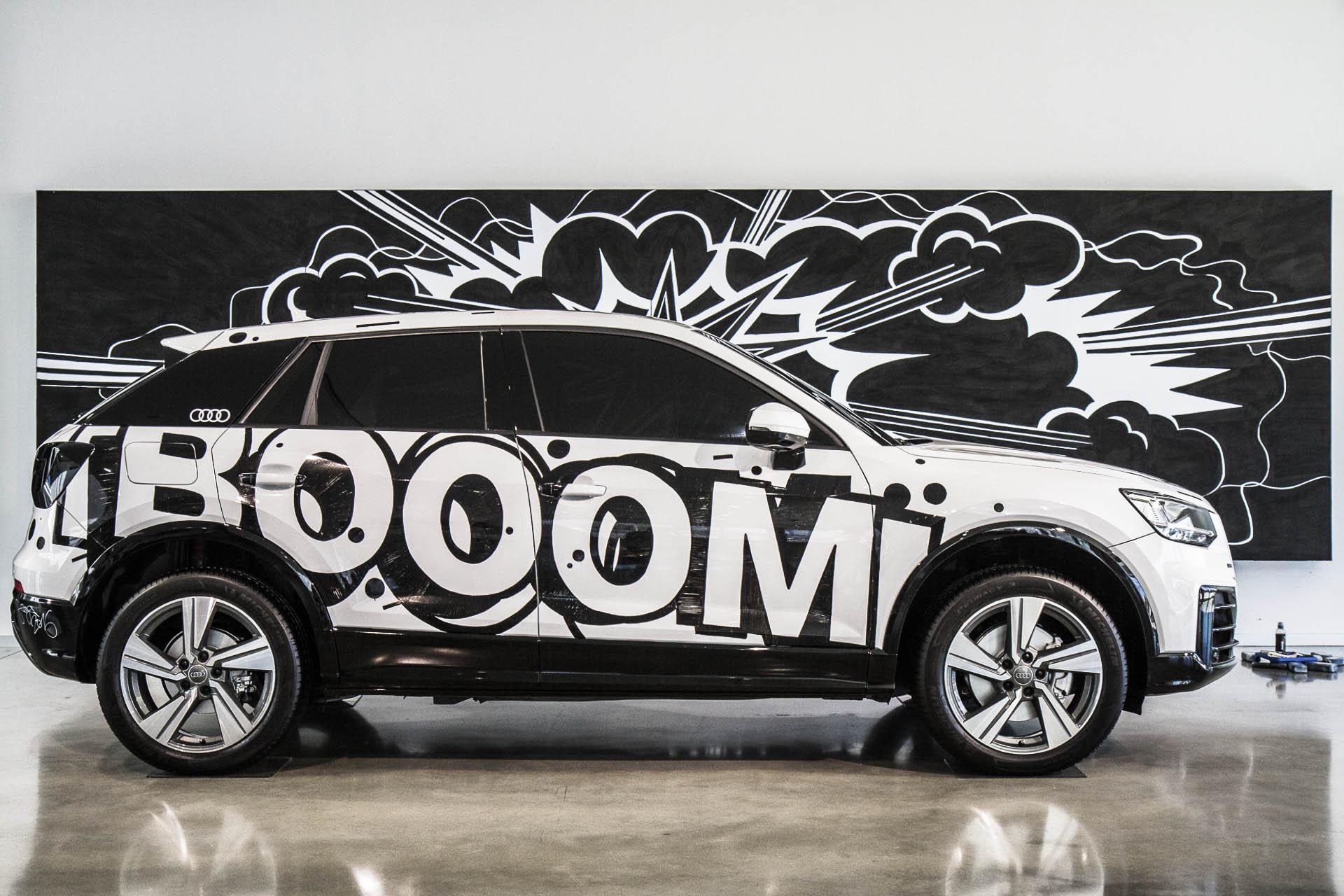 Art-Car Concept   Audi Q2