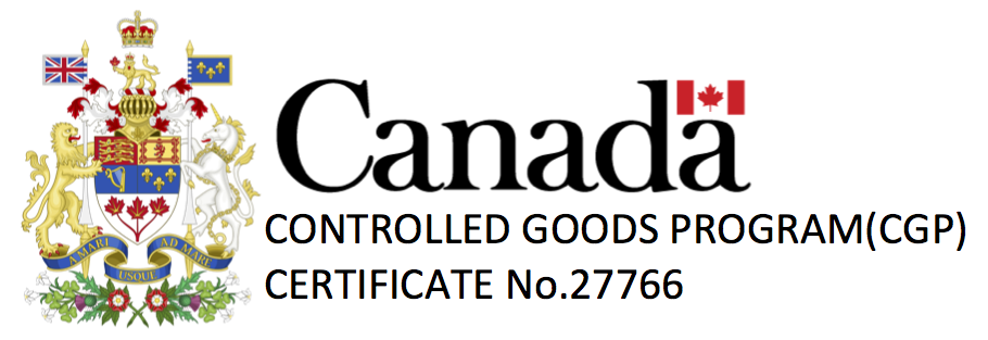 Paradygm Consulting is a controlled goods registered company.