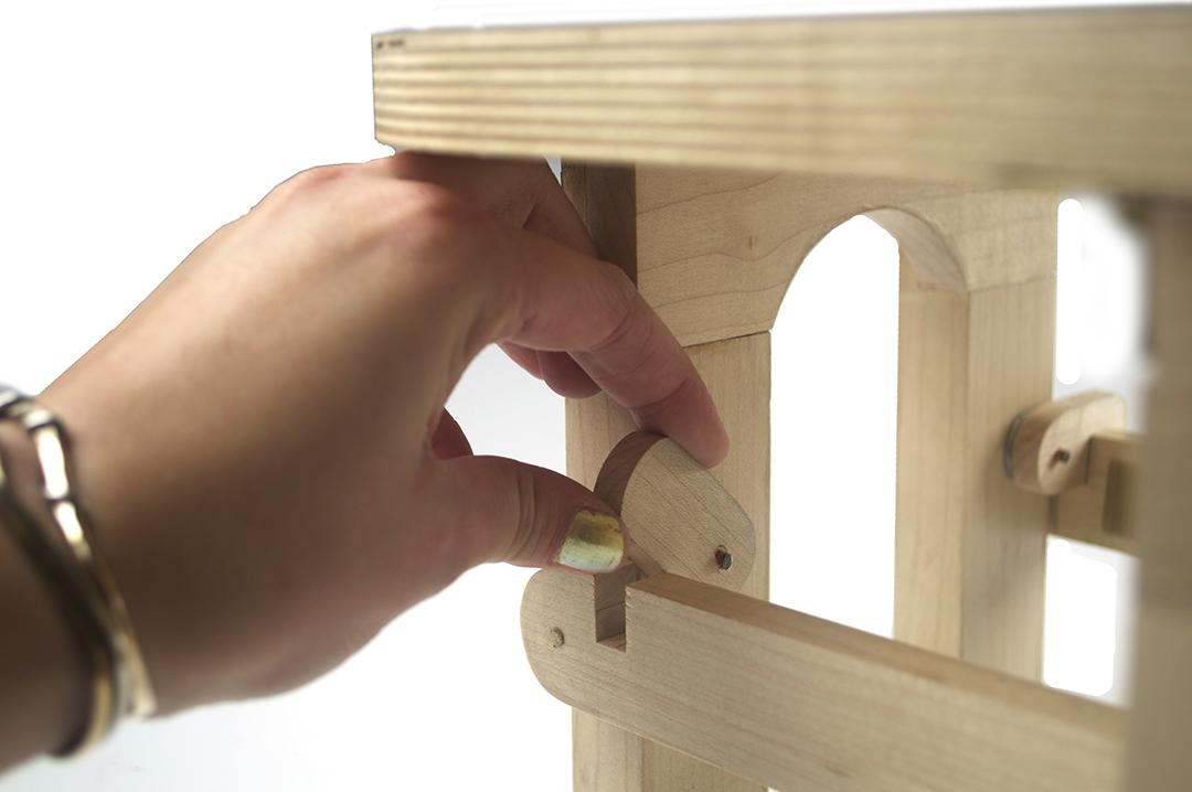 stool locking mechanism