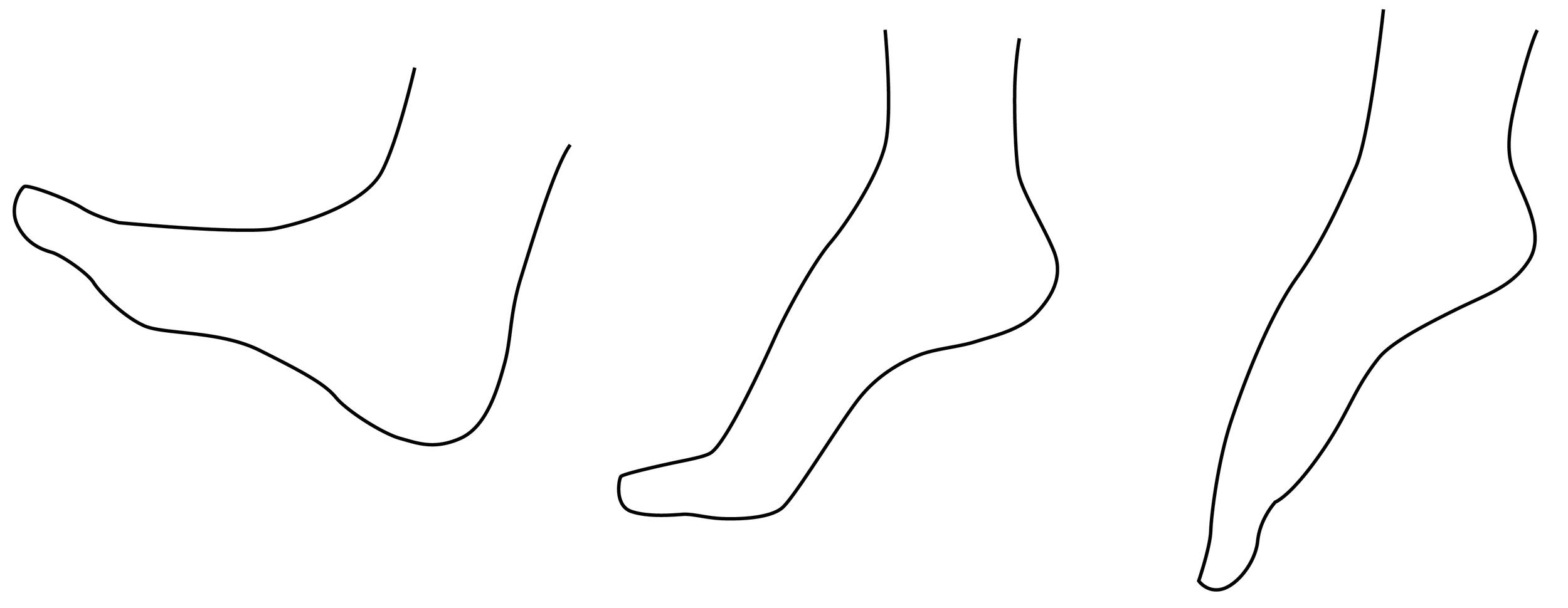 foot      flex studies