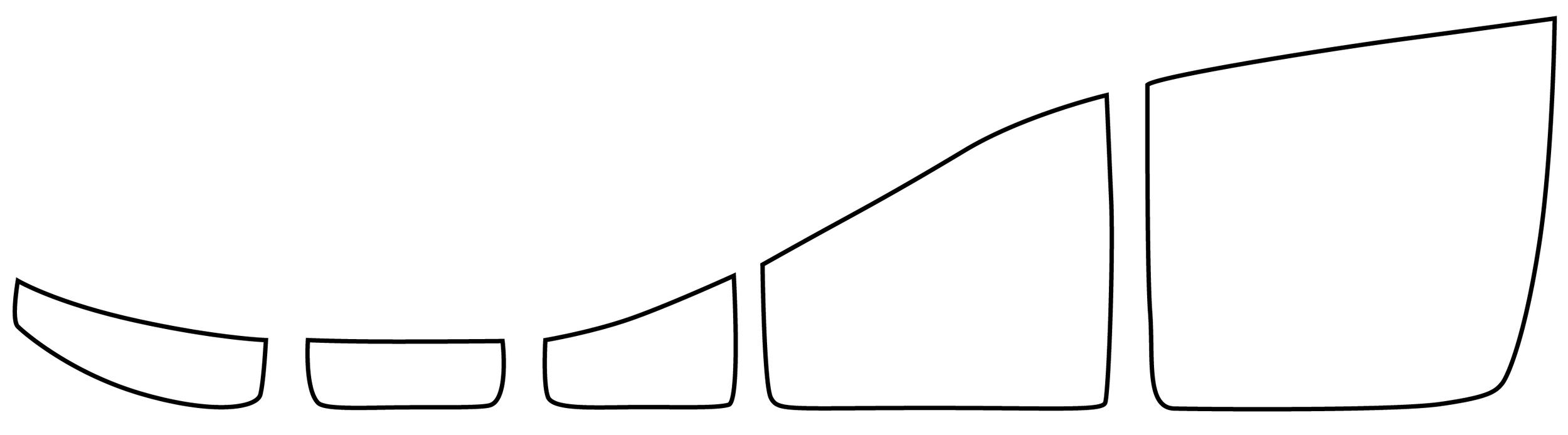 wedge profile