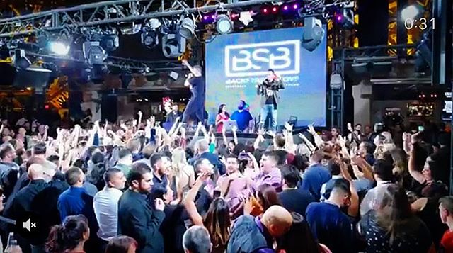 LAST MINUTE SHOW: I'll the DJ for the @backstreetboys tonight at @chateaunightclub