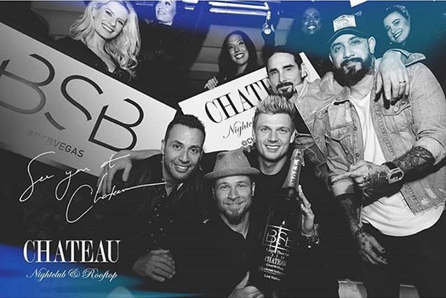 @backstreetboys and I will be taking over @chateaunightclub with @kokostopit and @djshadowred