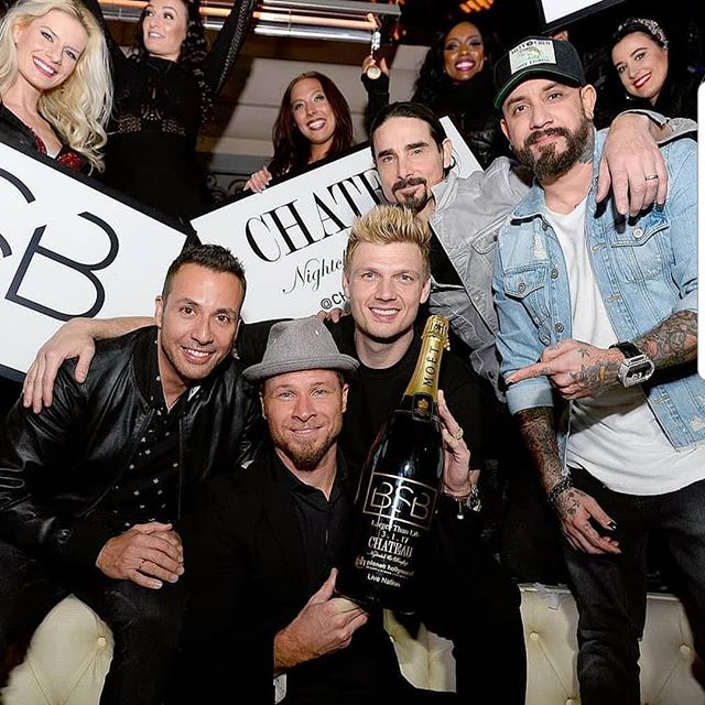It's the final after party show with the @backstreetboys at @chateaunightclub and they asked me to join them! This one is going to be massive! #bsb #backstreetboys